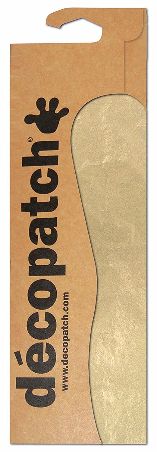 décopatch Gold Paper, 30 x 40 cm, Pack of 3 Sheets C229O