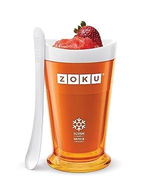 Zoku Slush batidos eléctrica taza Frozen batidos jugo Bebida morado azul verde naranja