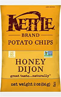 product image for Kettle Brand Potato Chips, Honey Dijon Bags, 2 Ounce (Pack of 24)