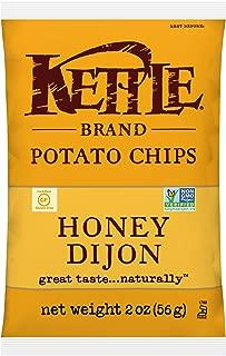 product image for Kettle Brand Potato Chips, Honey Dijon Bags, 2 Ounce (Pack of 24)