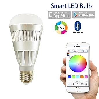 Flux Bluetooth Smart Bombilla LED – smartphones controlado regulable multicolor Luces que cambian de Color –
