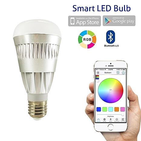 Flux Bluetooth Smart Bombilla LED - smartphones controlado ...