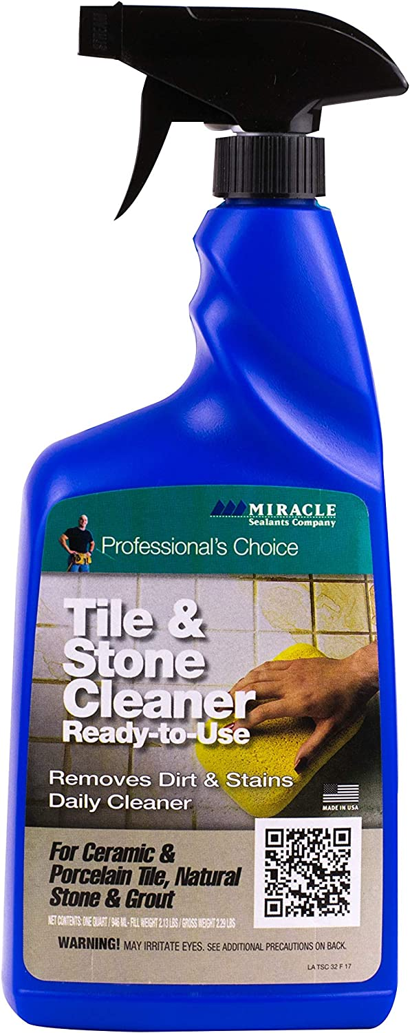 Miracle Sealants TSC632OZR Tile & Stone, 32oz Cleaners, Clear
