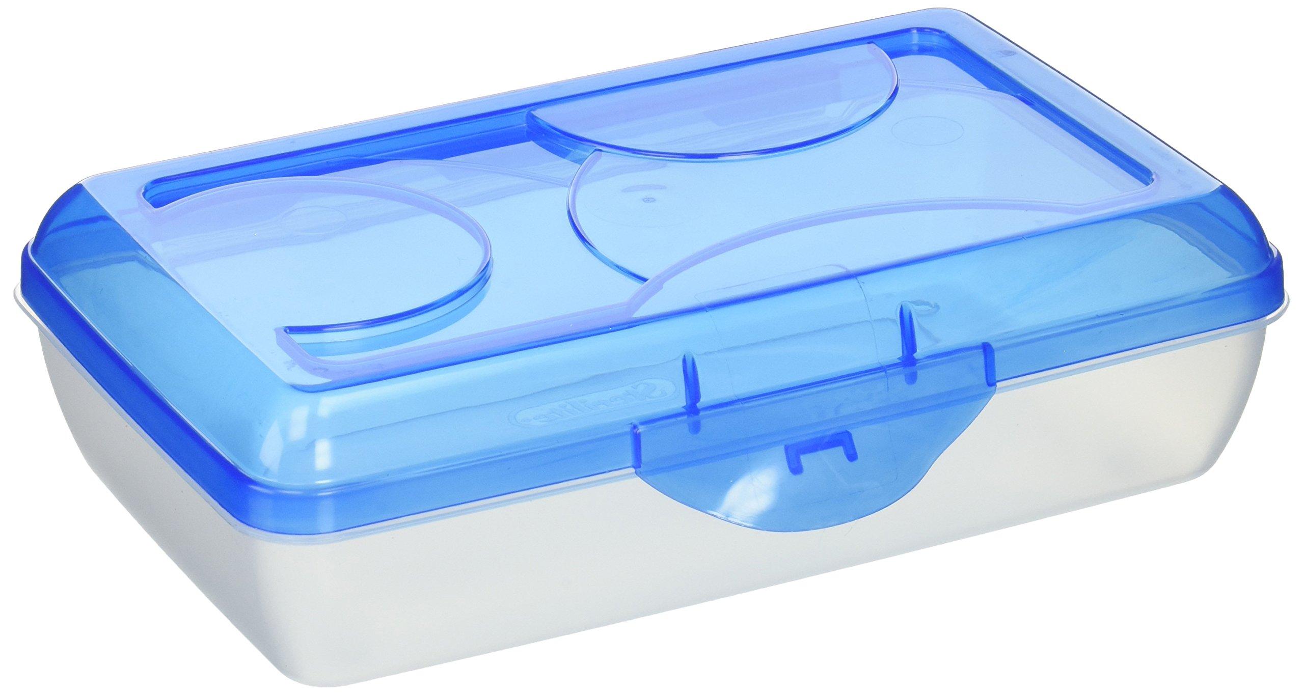 Sterilite 17234812 Plastic Pencil Box, Pack of 6