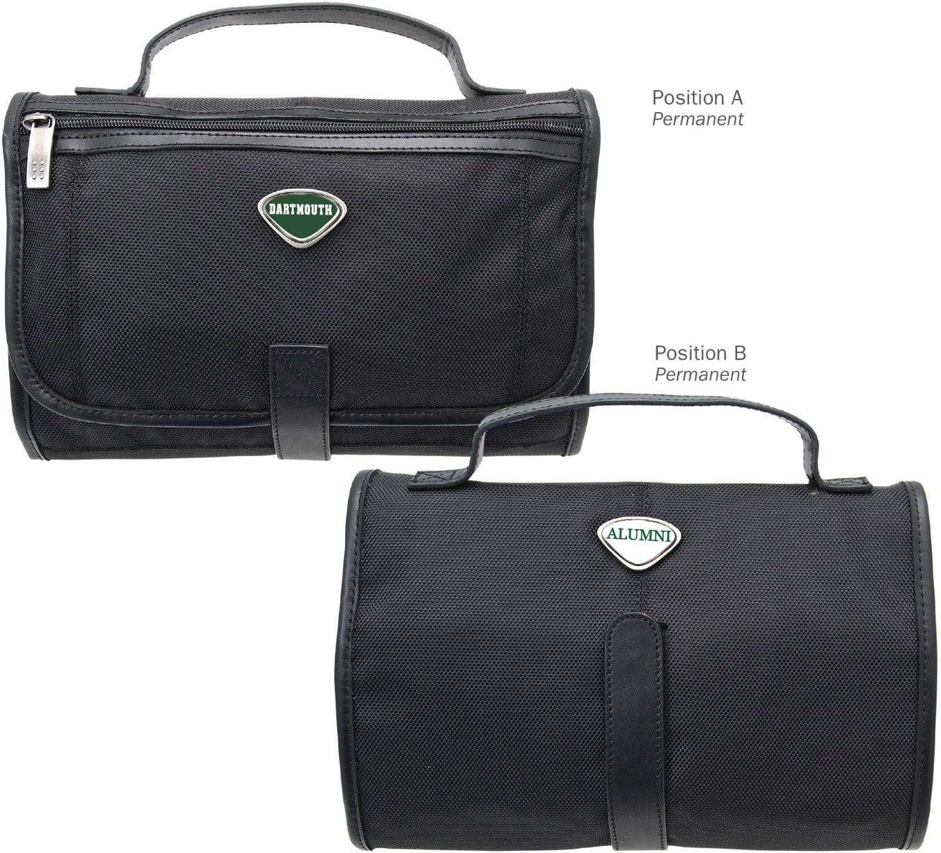 One Size AdSpec NCAA Dartmouth Big Green Collegiate Toiletry BagCollegiate Toiletry Bag Black