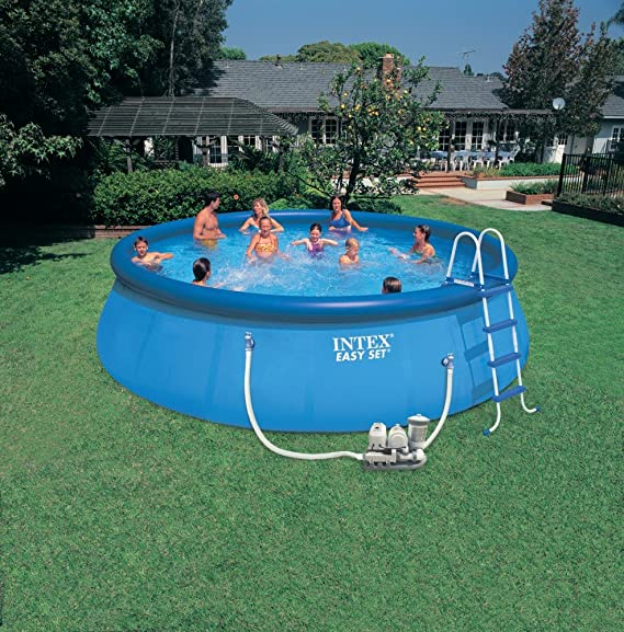 Intex - 56932GS - Piscina Easy Set con depuradora 366 x 91 cm: Amazon.es: Jardín