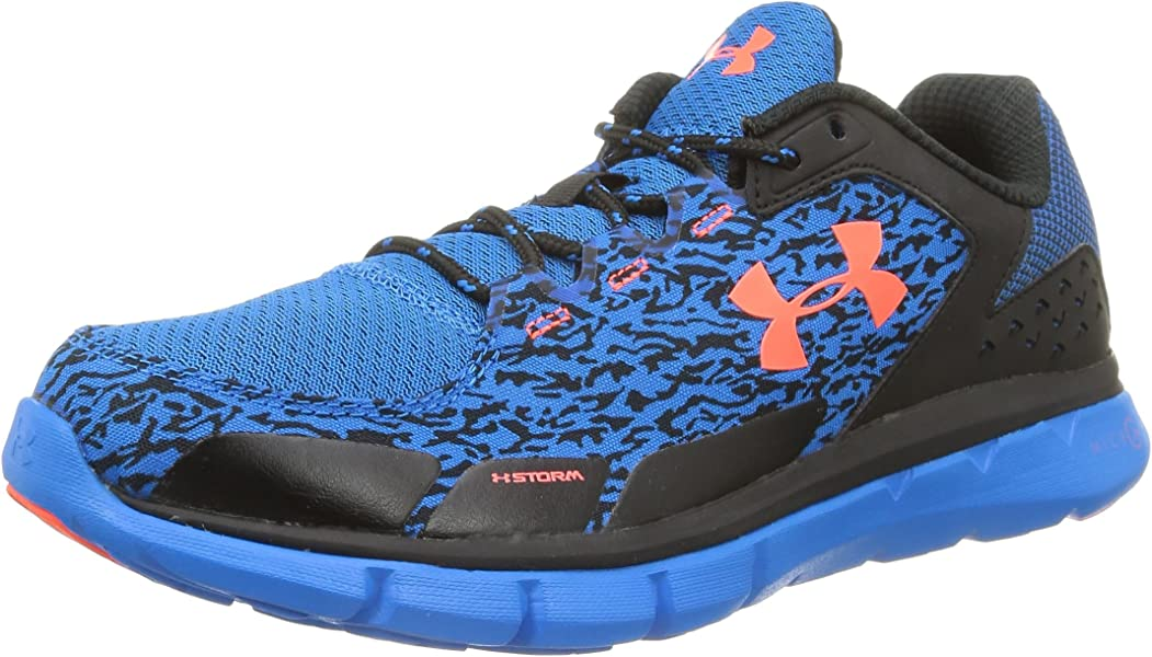 Under Armour Micro G Velocity Run Storm Running Shoes - AW15-11.5 - Black b6479474d714