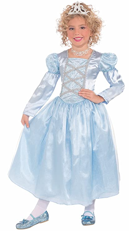 Forum Novelties Blue Princess Cinderella Child Costume, Medium