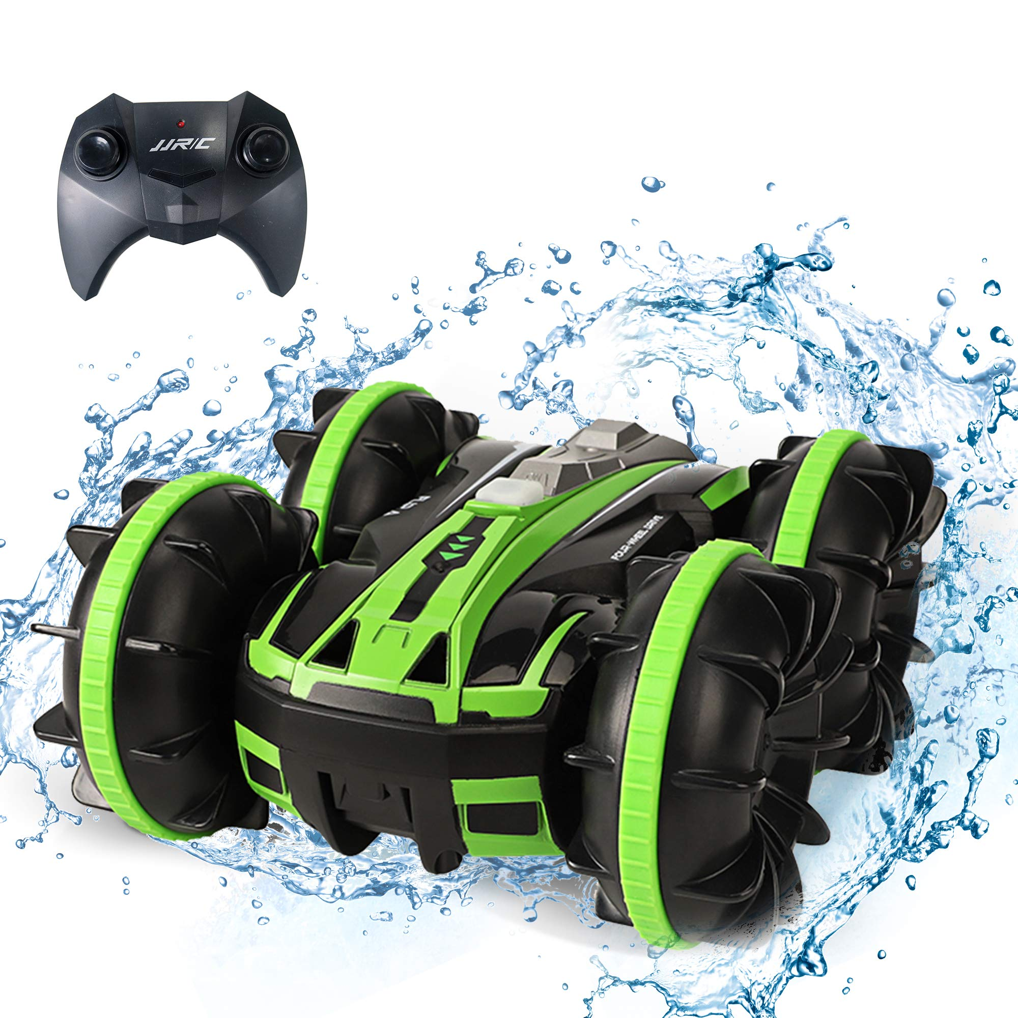 Amphibious RC Car Toys for Kids Remote Control Boat Car 4WD Off