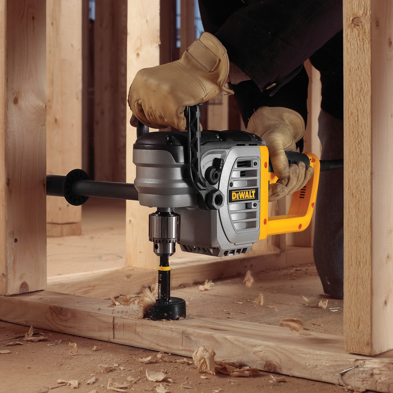 DEWALT DWD460 11 Amp 1/2-Inch Right Angle Stud and Joist Drill with on simple switch schematics, switch layouts, motor schematics, generator schematics, switch body, switch wiring symbols, switch installation, strobe light schematics, switch power, switch wiring basics,
