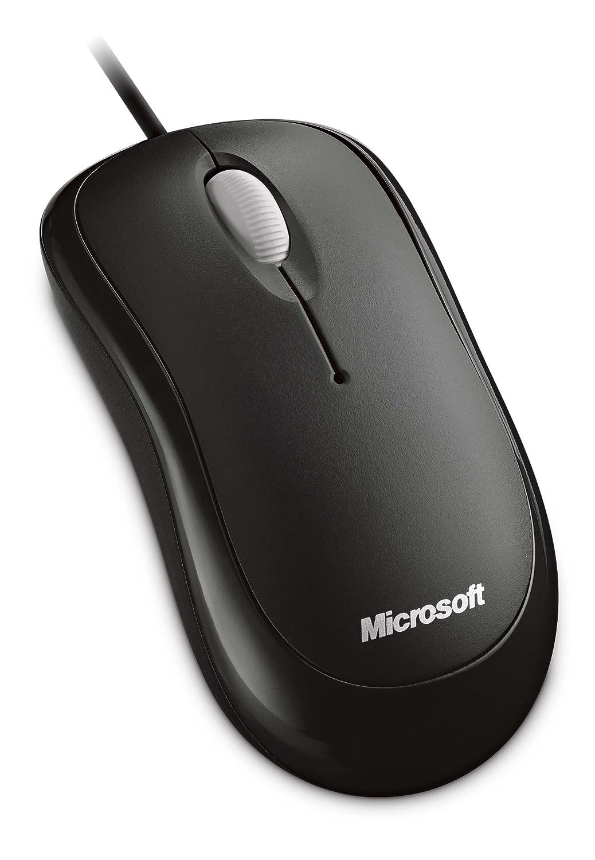 マイクロソフト マウス 有線/USB接続 ブラック Basic Optical Mouse for Business 4YH-00003