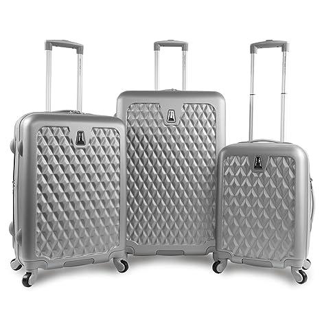 Pacific Coast Signature Pandora Hardside Rolling Travel Lug 3 Piece - Juego de maletas Adulto unisex