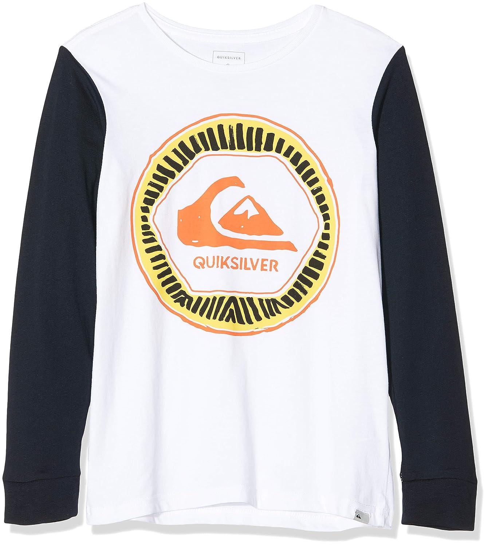Quiksilver Solar Sun-T-Shirt Manches Longues pour Gar/çon 8-16 Ans