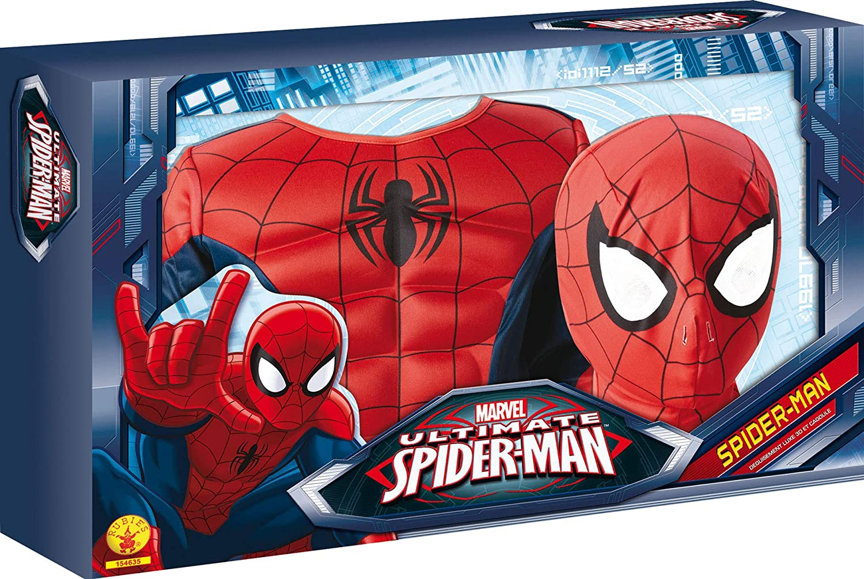 Rubie s-déguisement officiel - Marvel- Déguisement Pour Enfant Panoplie Luxe  3d Eva Spiderman Ultimate - Taille S- 154635S  Amazon.fr  Jeux et Jouets 275eefbdd562
