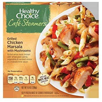 Amazon Healthy Choice Cafe Steamers Top Chef Grilled Chicken