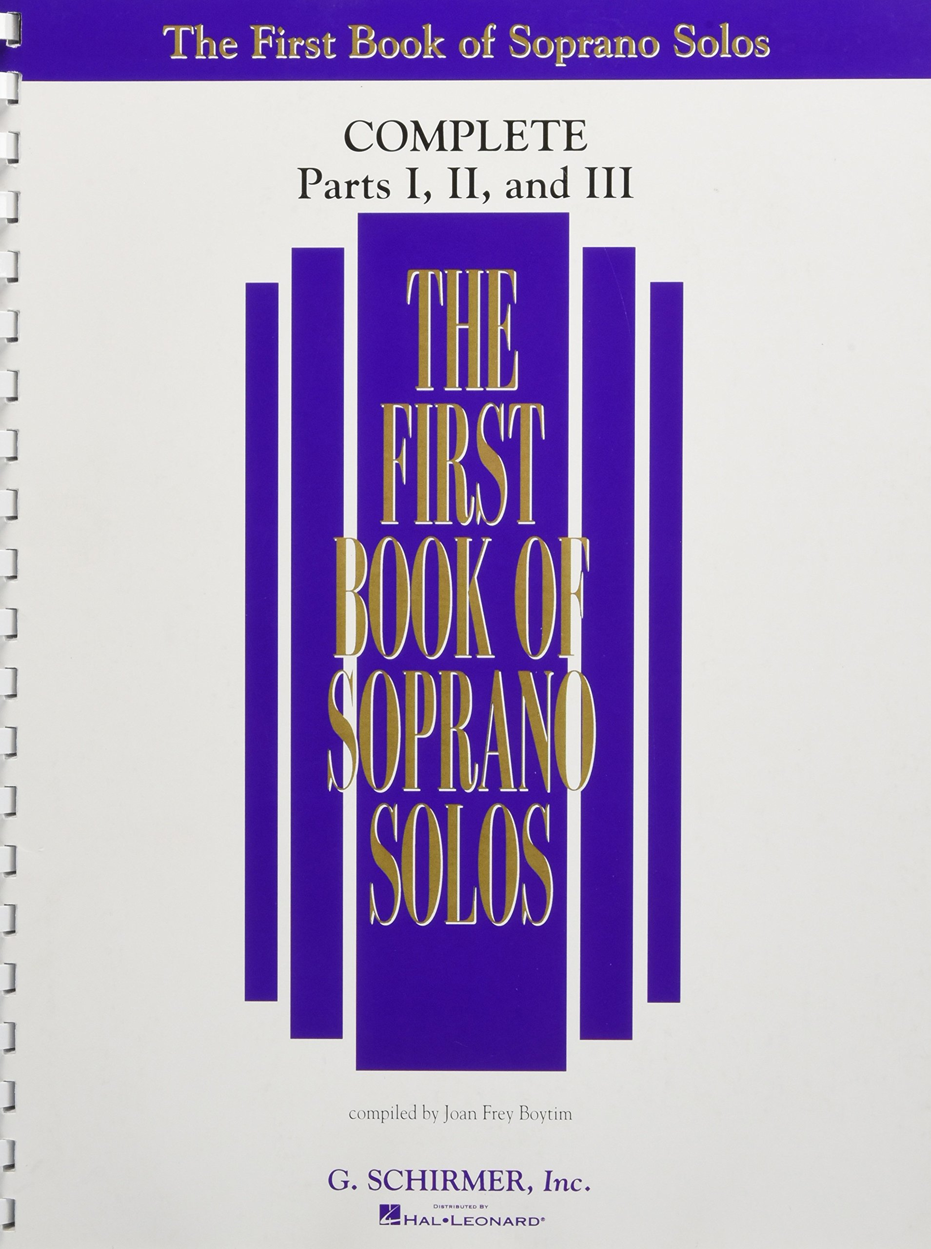 The First Book Of Soprano Solos  Complete Parts 1 3