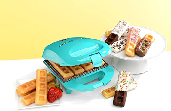 Amazon.com: Babycakes Waffle Stick Maker, Mini, Verde ...