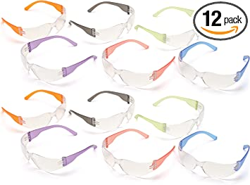 BOROK 3Pack Protective Hard Spectacles Glasses in Plastic Cases Eyeglasses Protection Box Lightweight Travel for Men Children