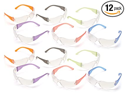 abe24c911e1 Image Unavailable. Image not available for. Color  Pyramex S4110SMP  Intruder Safety Glasses ...