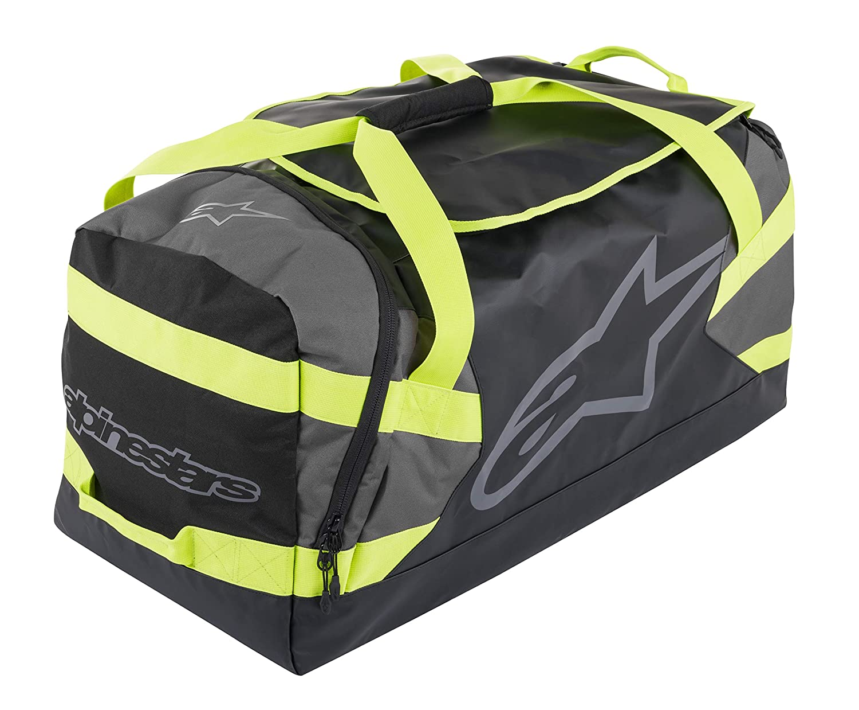 One Size, Black Anthracite Yellow Fluo Goanna Duffle Bag