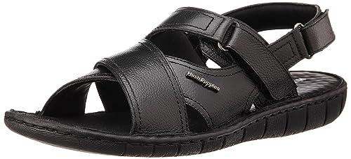 c59878f695b Hush Puppies Men s Sedan Sandal Black Sandals - 10 UK India (44 EU)