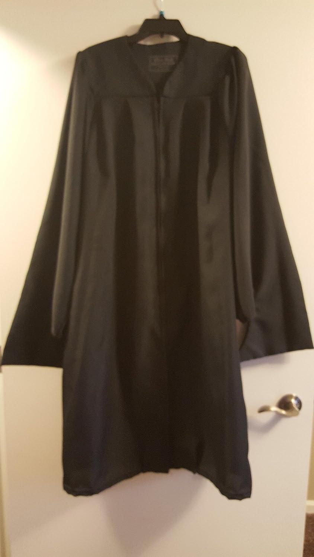 Amazon.com : Graduation Cap And Gown Black Masters 5\'3\