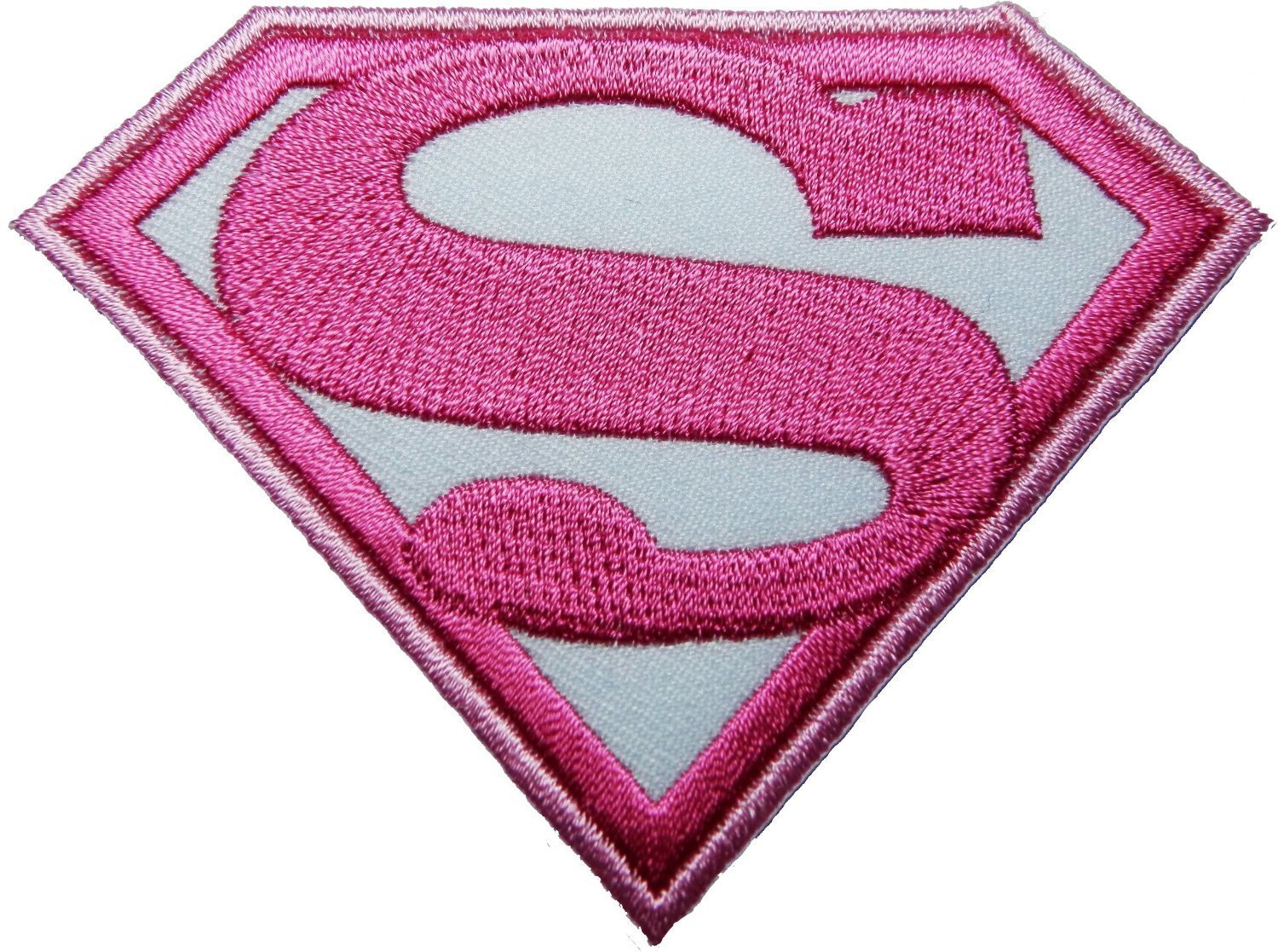 Amazon.com: Superwoman pink patch Iron on Logo Vest Jacket cap Hoodie Backpack Patch Iron On/sew on patch: Home & Kitchen