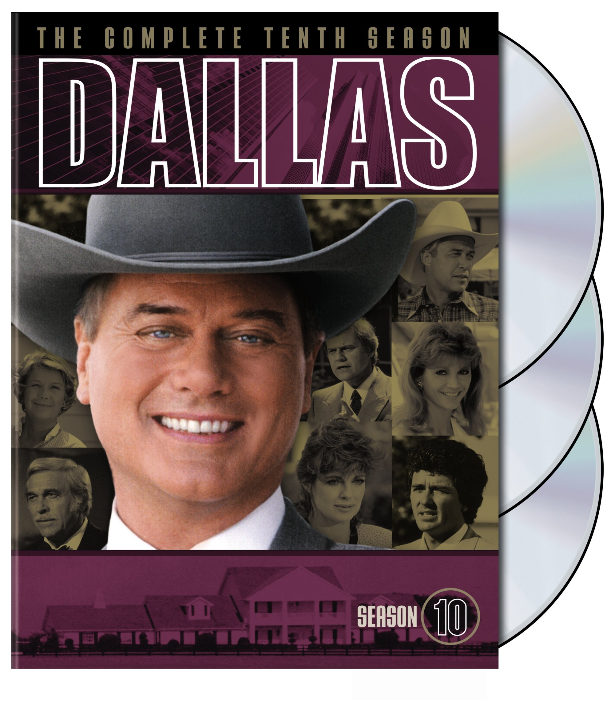 DVD : Dallas: The Complete Tenth Season (Standard Screen, 3 Disc)