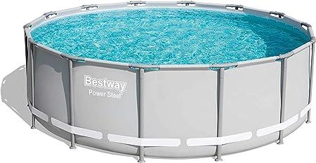 Amazon Com Power Steel 14 X 48 Frame Pool Set Garden Outdoor