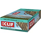 CLIF BAR - Energy Bar - Cool Mint Chocolate - With Caffeine (2.4 Ounce Protein Bar, 12 Count)