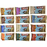 Clif Bar 24 Bar Variety Pack, 2 Bars of each Flavor
