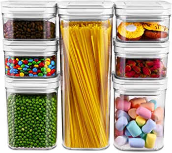7-Pieces Gukos Airtight Food Storage Containers with Lid