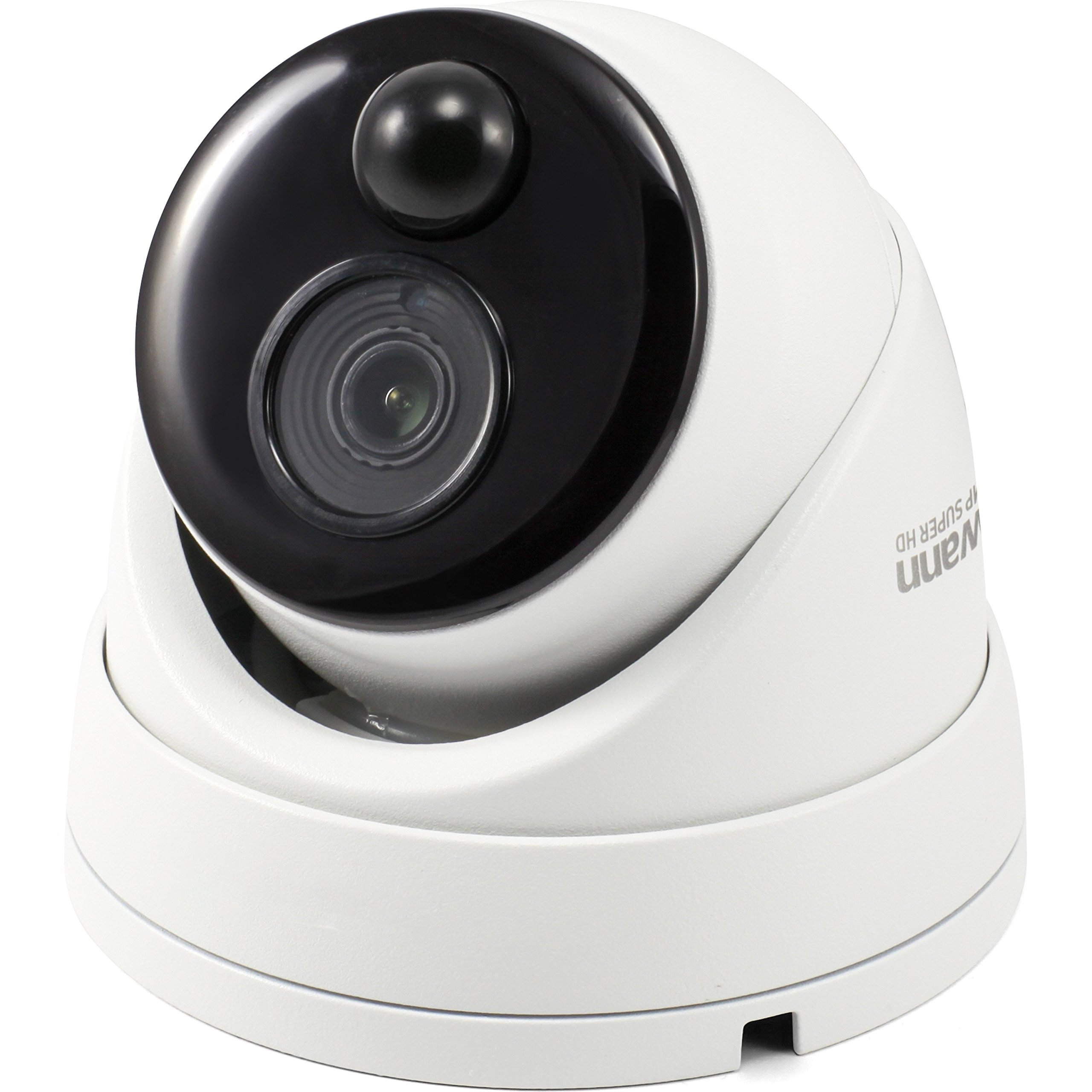 Swann 5MP Dome DVR Security Camera with Heat & Motion Sensing + Night Vision by Swann