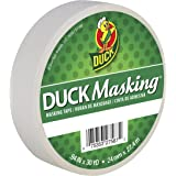 Duck Masking 240878 White Color Masking Tape.94-Inch by 30 Yards