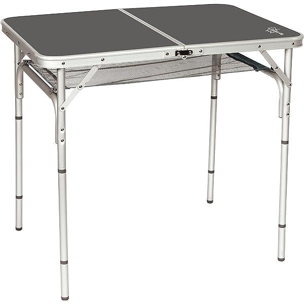 Bo-Camp Premium - Mesa con Patas extraíbles/Regulables 90 x 60 cm ...