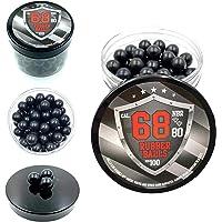 SSR 100 x Bolas de Gomma Maciza Ram Paintball Rubberballs HDS SG 68 T4E .68 Calibre Ammo Munition Paintballs Rubber…