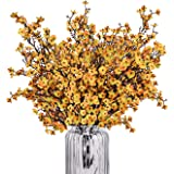 Baby Breath Gypsophila Artificial Flowers, Babies Breath Flowers Bush Artificial Gypsophila Silk Silica Real Touch Blooms for