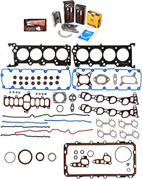 0.25mm Standard Size Piston Rings Domestic Gaskets Engine Rering Kit FSBRR2021EVE\0\1\1 Fits 90-96 Toyota MR2 Camry 2.2 5SFE Full Gasket Set 0.010 Oversize Main Rod Bearings