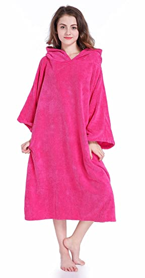 4ab866d8408318 Winthome Changing Towel Robe, Surf Poncho (Pink): Amazon.ca: Sports ...
