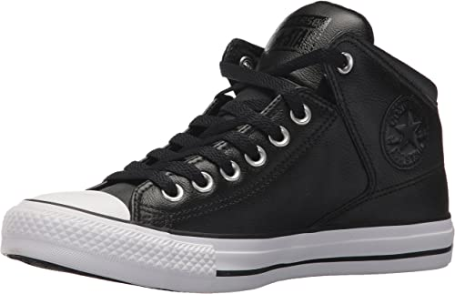 converse high top leather