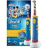 Oral-B Brosse à Dents Électrique pour Enfant avec Mickey de Disney