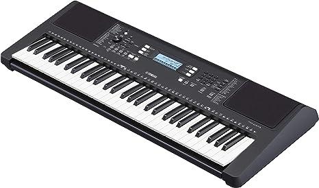 Yamaha PSR-E373 Teclado digital - Instrumento versátil con 61 teclas sensibles a la pulsación, teclado de iniciación con sonidos de instrumentos de ...