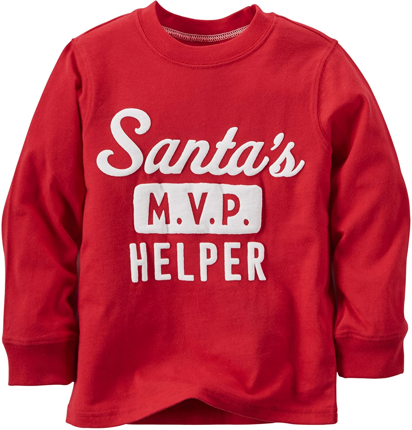 Carter's Little Boys' Long-sleeve Christmas Tee Carters P000539853