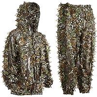 Bseical Ghillie Suit, jachtkleding voor heren, camouflage, camouflage, jachtbos, camouflagepak, militair ghilli-pak…