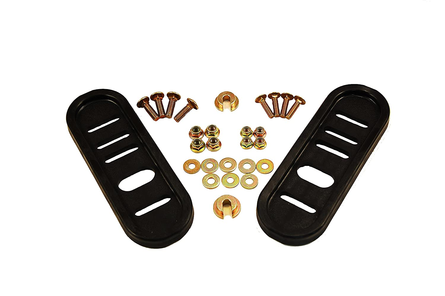 Arnold 490-241-0010 Universal Deluxe Poly Slide Shoes for Most Two-Stage Snow Throwers (2-(Pack))