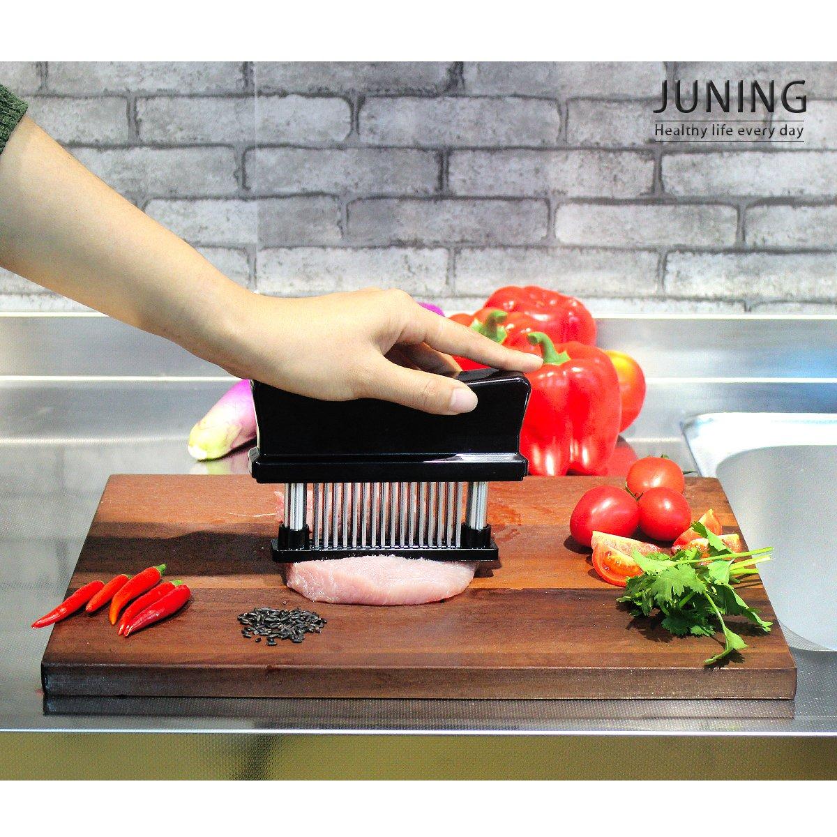 bistecche inteneritrice per carne per carne marinata grigliata in acciaio inossidabile Taglianervi Oliying 48/lame adatto per la cucina