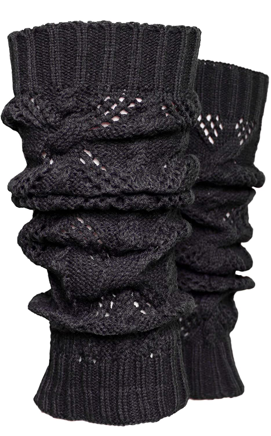 fe73c6453c9aa Classic solid color cable knitted leg warmers. One Size Fits Most - One  pair per order. Approximately 15.5 inches long. Fashionable Knee High Winter  Knit ...