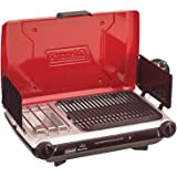 Coleman Portable Camping 2-Burner PerfectFlow Instastart Propane Grill/Stove