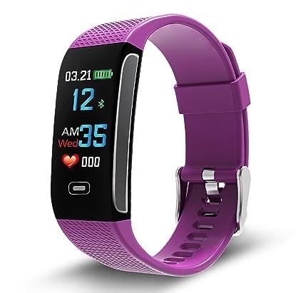 Napperband - Reloj de pulsera de actividad deportiva con monitor de frecuencia cardíaca, presión arterial, seguimiento del sueño, contador de ...