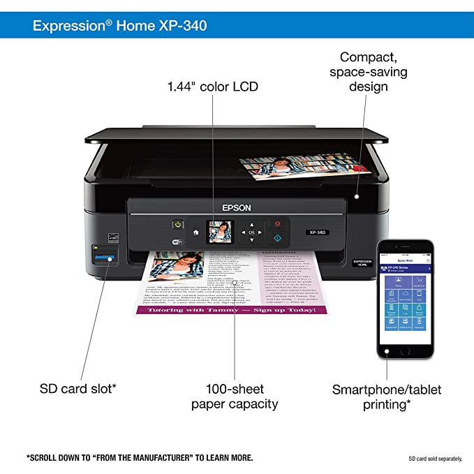 Epson Xp 310 Out Of Paper Error